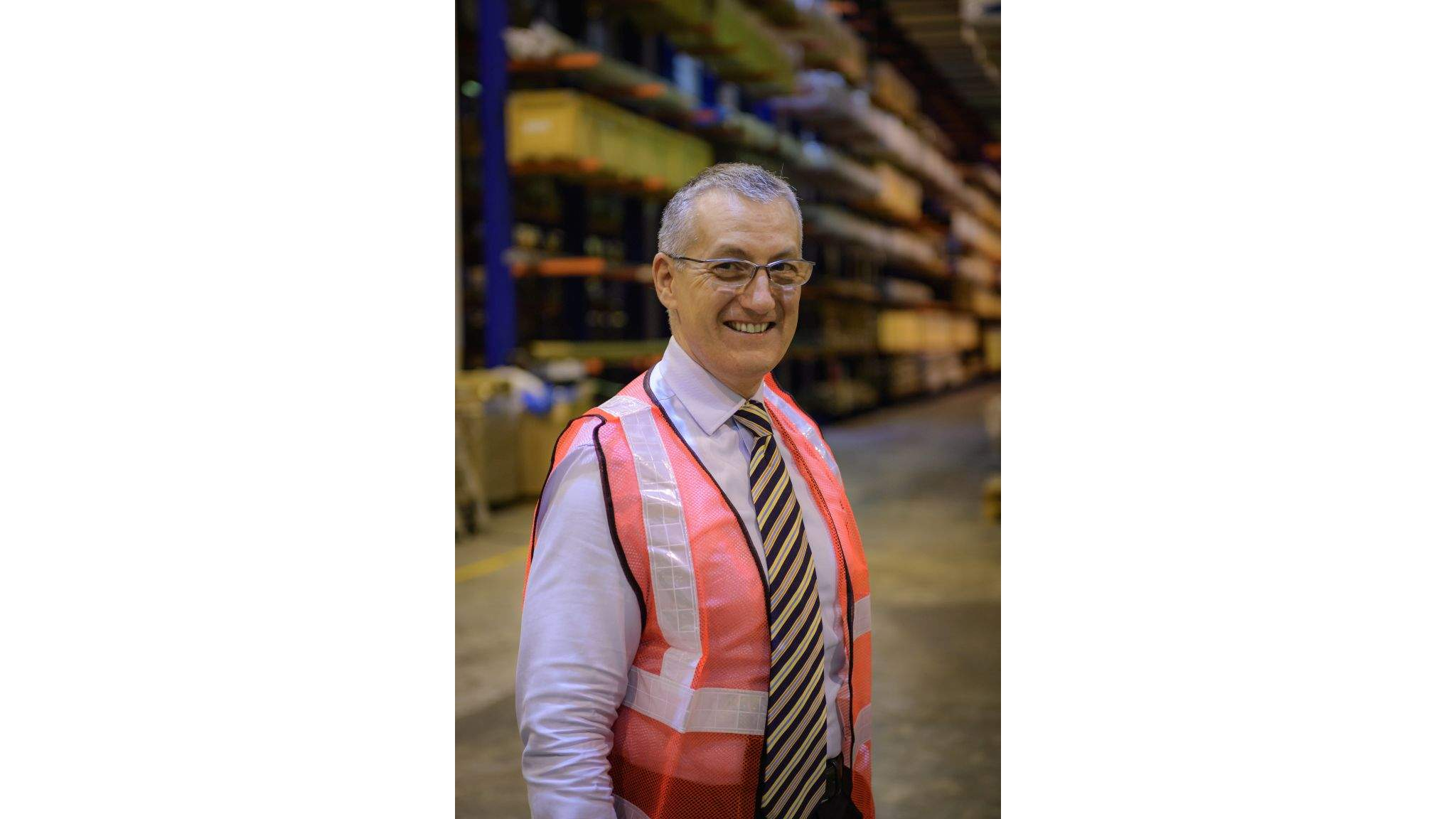 Frank Stadus, Managing Director DACHSER Air & Sea Logistics Singapore